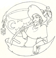 Outlines: Clopin by DuskChant