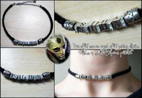 MASS EFFECT: Siha Choker by SarahSilver
