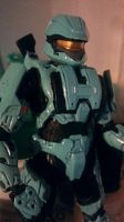 HALO 3: Cyan Spartan Soldier Scout by AomiArmster