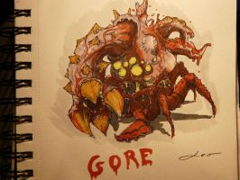 the creature of gore by croustipote