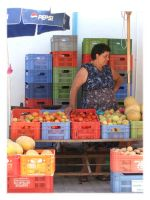 Cypriot Market Woman by Master-G