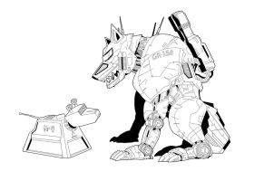 K-9 and GR-150 by SteelhavenStudio