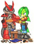 Shortfuse and Tekno by Christhopper