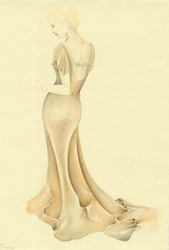 Evening Gown - Bone by Catipher