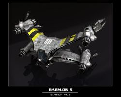 STARFURY MK.2 remastered by TMC-Deluxe