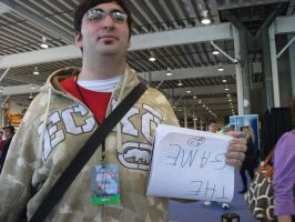 NYAF NYCC i hate this guy by IoniaFreak