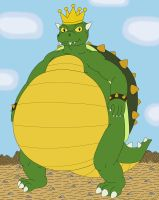 Giant King Koopa by MCsaurus