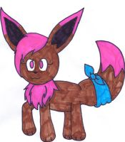 Noe the Eevee by KandyPrower