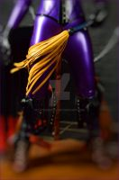 Yellow Flogger on Purple Latex by LatexModel