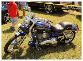 Cool Blue Harley by TheMan268