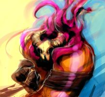 Hudin color scketch by hision