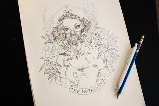 The Botanist by vixyl