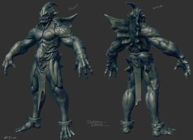 Tidal Demon Wip02 by Arkadius