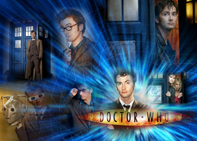 David Tennant - Dr. Who by Freddddddddd