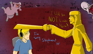 I am sorry Stephano by silver-phoenix103