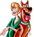 Scooby And Shaggy by pythonorbit