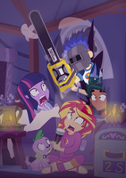 Nightmare at Camp Everfree by dm29