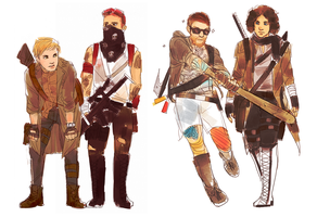 fall out boy post-apocalyptic by liberandam