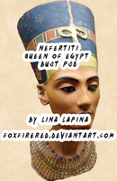 Nefertiti Queen of Egypt PSD by FoxFireRed