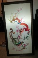 Chinese Wall Art by anironbutterfly