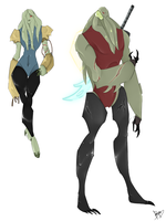 Vilgax And Yolotli by LittleKidsin