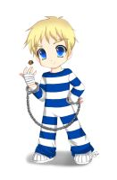 SSF4: Chibi Cody by strawberrycake