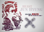Jun Hyung Typography by KissOfDeathXxX