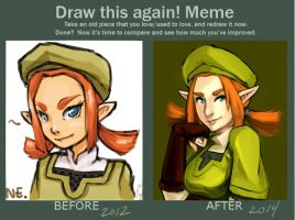 Draw this again meme 6 by SailorSquall