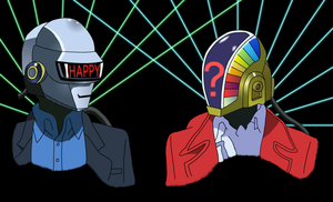 Daft Punk by todd102030