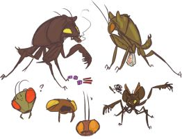 insectoid aliens by sarcopdead