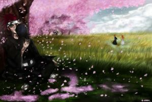 The lovely spring. by Kihiart