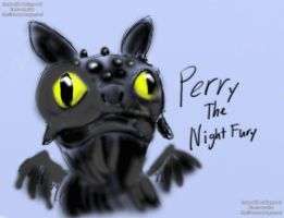 Perry the Night Fury by birdboy5
