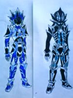 Keyblade Armors by ExusiaSword