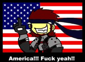 America fuck yeah by karenbloodcrest
