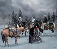 Christmas for cowboys 2 by robhas1left