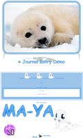 Baby Seal Journal CSS by AESD