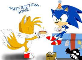 Happy birthday Sonikku! by Lucky-Sonic-77-d