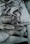 Untitled charcoal work by ahsr