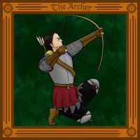 Commission- The Archer by a0ka0neArt