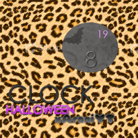 ClockHALLOWEEN Rainmeter by xArnniYT