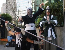 Madara, Zabuza and Haku by ls-event
