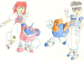 Winbee and Twinbee by odairjr