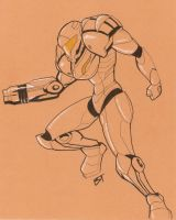 Samus by Vauz