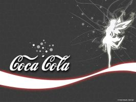 Coca Cola fairy by KingIsDead