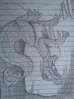 Dragon on Paper by catlover1672