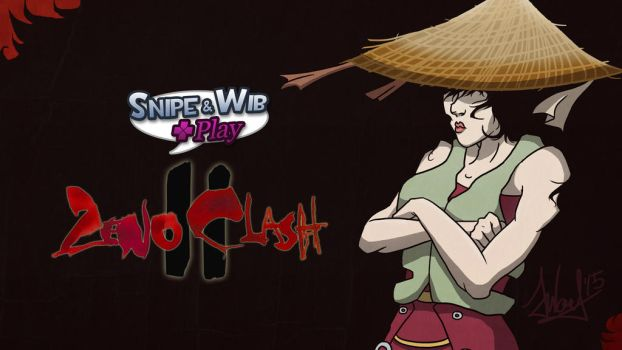 Snipe and Wib Play Zeno Clash II Title Card by SnipeTheSorrow