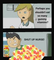 SHUT UP NURSE Meme no. 2 by Oceanblue-Art