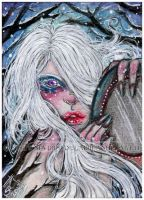 ACEO :: Winter Lullaby by StefaniaRusso