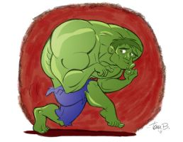 Hulk Sneek by tombancroft
