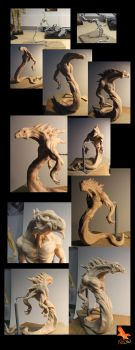 Maquette Work in Progress by firecrow78